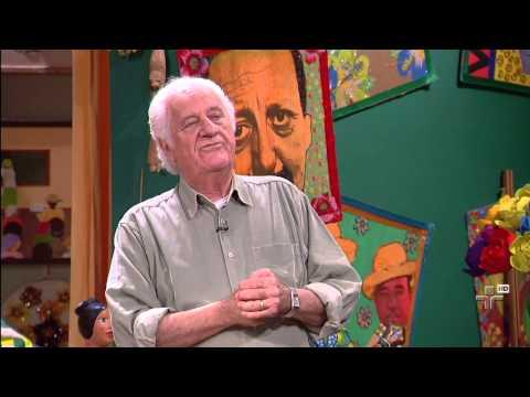 Galinheiro - Arte em Cabaça fazendo parte do cenário do Programa Sr. Brasil, TV Cultura