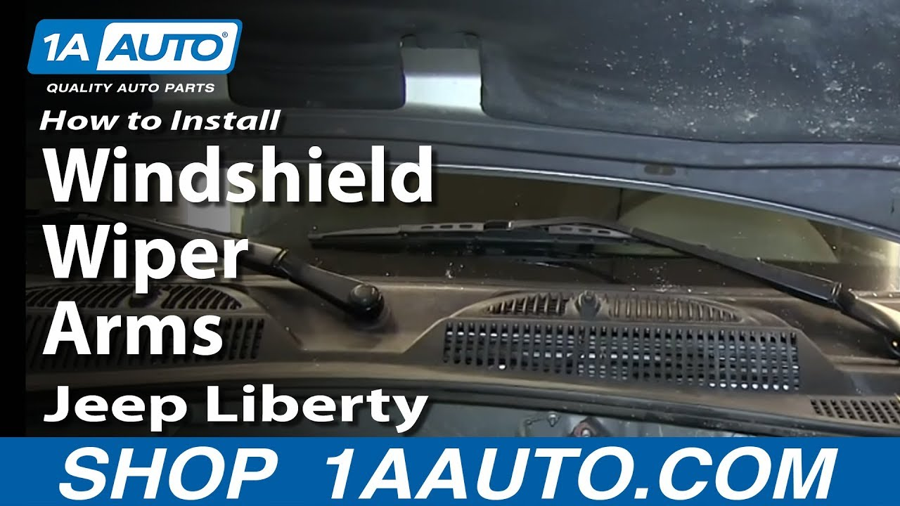 service manual  how to install replace windshield wiper 2005 GMC Envoy XL SLT 2003 GMC Envoy XL Interior