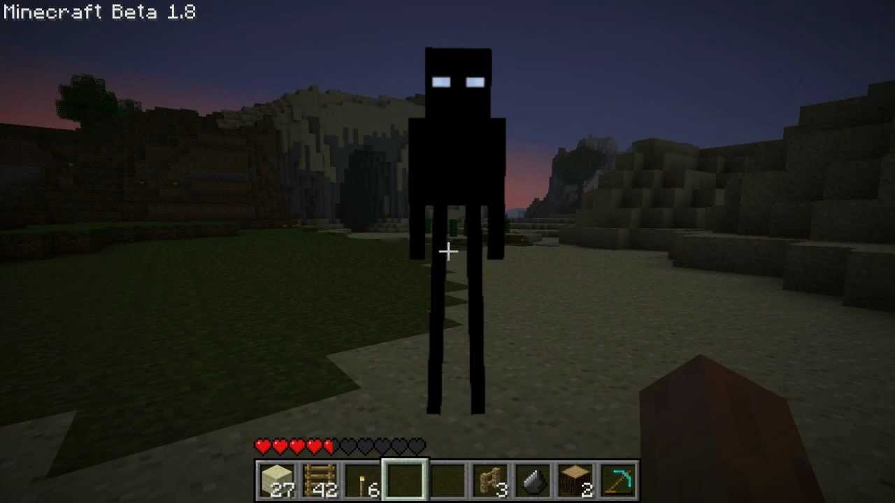 how to make a enderman portal in minecraft pe
