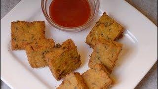 Kothimbir Vadi - Maharastrian snack ..