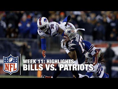 Bills vs. Patriots | Week 11 Highlights | Monday Night Football