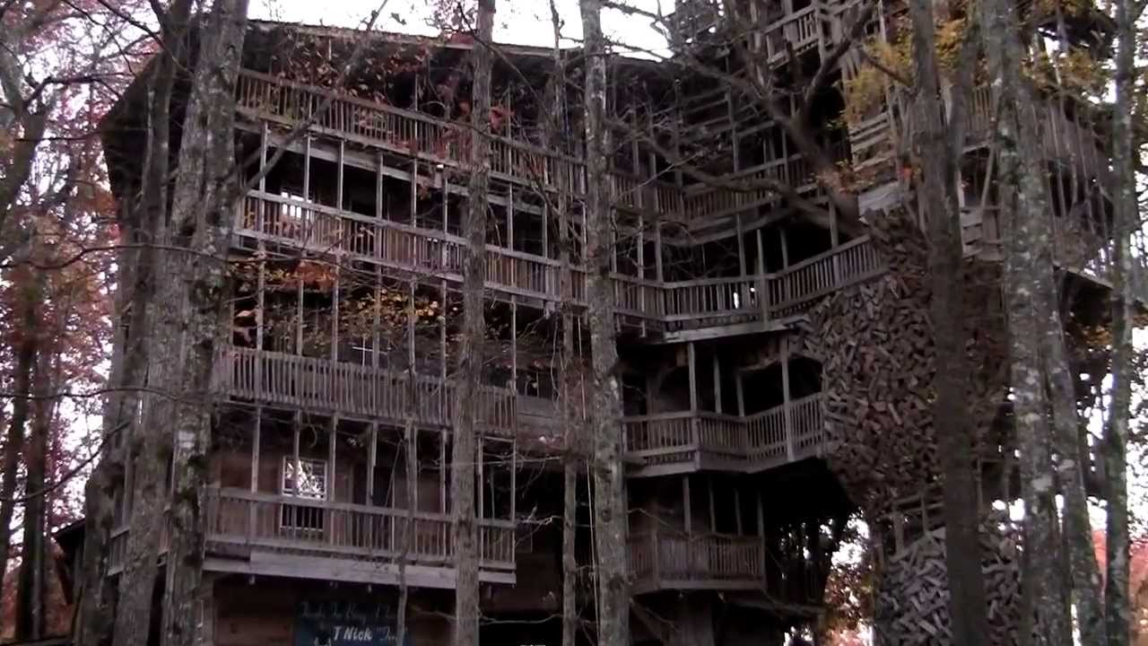 Worlds Largest Tree House Crossville, TN as seen on ABC ...