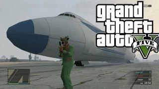GTA 5: Como Conseguir El Jumbo Jet 747 *ONLINE*
