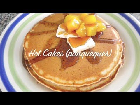 COMO HACER HOT CAKES | Receta Facil