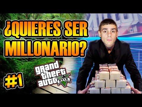GTA V ONLINE   ¿QUIÉN QUIERE SER MILLONARIO? #1   GENTE RANDOM DE LAS SALAS   Josemi