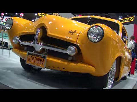 2013 SEMA Show Video Coverage: HEMI-Powered 1951 Henry J
