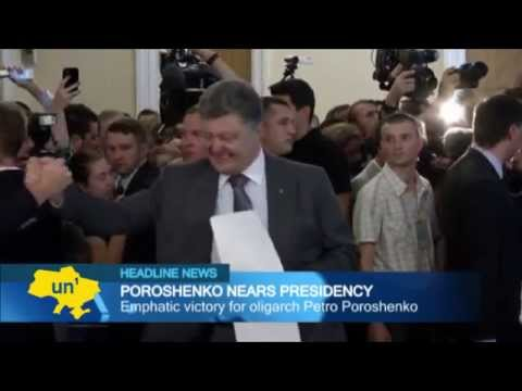 President Poroshenko: 'Chocolate King' Petro Poroshenko wins Ukrainian presidential election