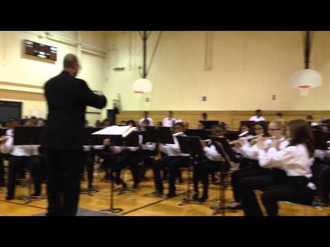Crete Monee Middle School Winter Band Concert 2013 video B