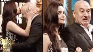 The Anupam Kher Show Alia Bhatt & Mahesh Bhatt 20th