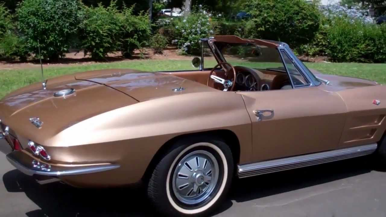 sold 1964 saddle tan corvette convertible for sale by corvette mike. Cars Review. Best American Auto & Cars Review