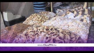 إقبال كبير على حلوى عيد الفطر فالأسواق المغربية   |   بــووز