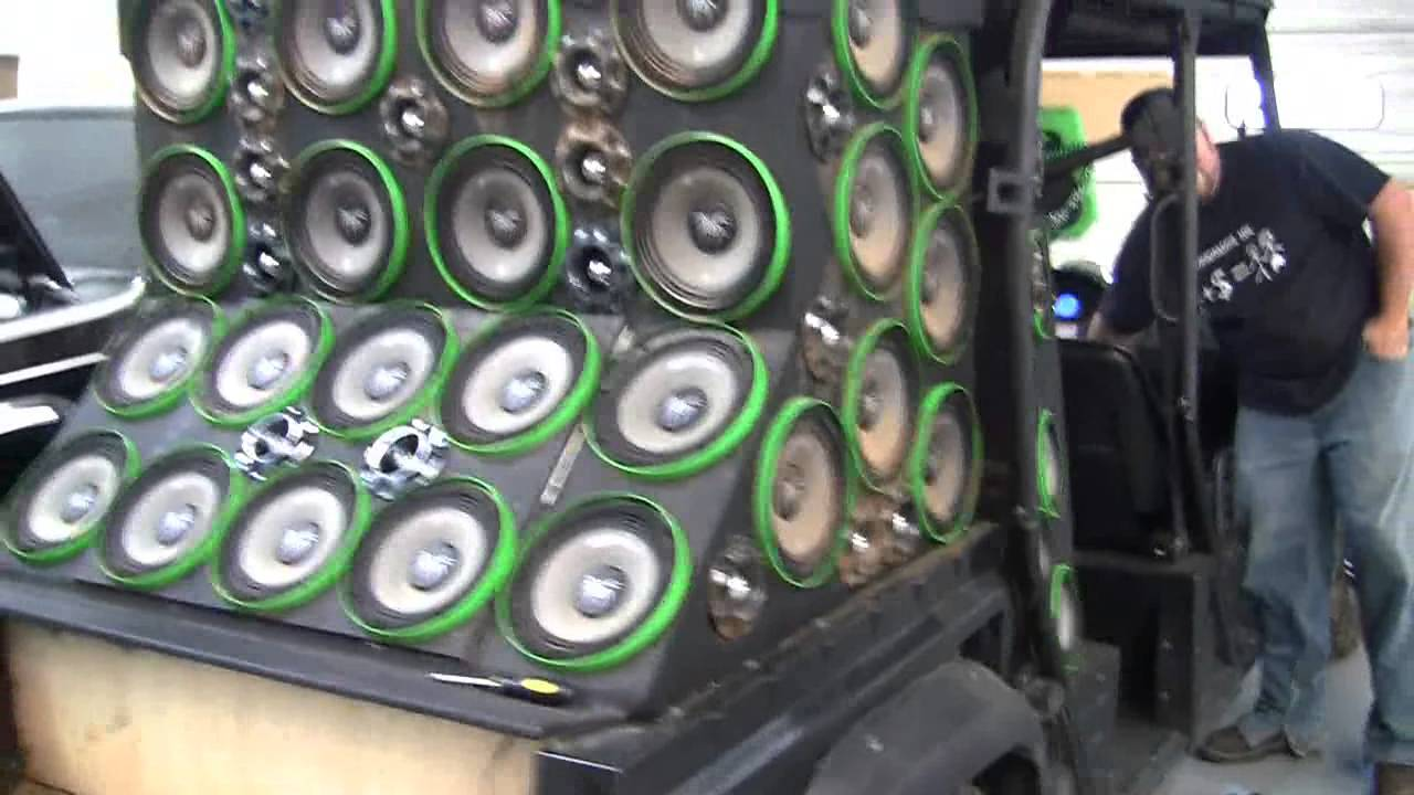 The World S Loudest Atv Dad Subwoofers And Soundstream