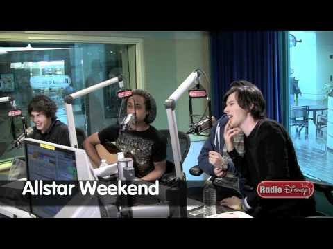 Allstar Weekend - Selena Gomez' Ringtone - Celebrity Take with Jake on Radio Disney