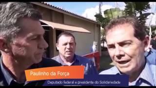Deputado Paulinho da Força libera emendas para Ipiguá