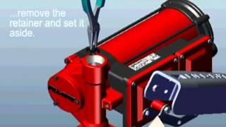 FR3200 Series Pump Bypass Valve Service