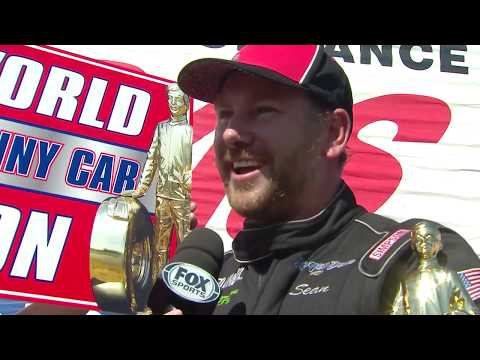 Sean Bellemeur clinches back-to-back Top Alcohol Funny Car Championships