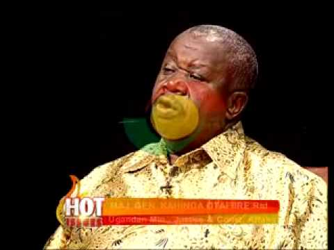 Hot Issues - with Maj. Gen.Kahinda Otafiire Rtd. (Unganda Min., Justice Affairs) - 24/5/2014