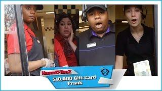 $10,000 Gift Card Prank - HaanZFilmZ