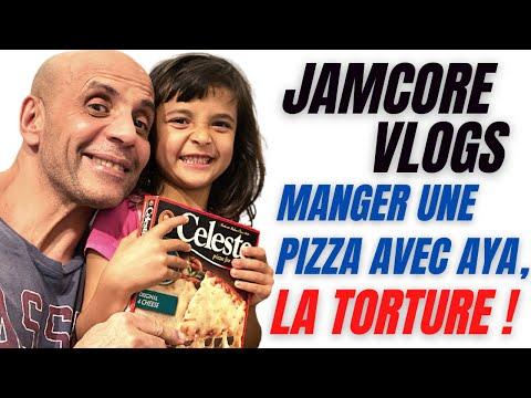 JamCore VLOGS : Manger une pizza avec Aya,  LA TORTURE  !
