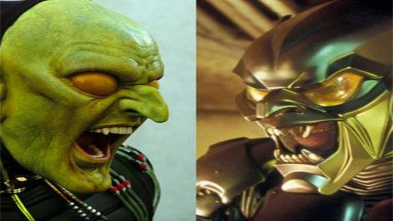 New (Original) Green Goblin Costume Test Footage!! - YouTube