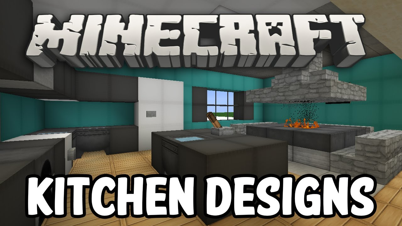 ... Minecraft Bathroom Ideas Pe By Minecraft Interior Design Kitchen  Edition Youtube ...
