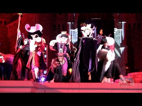 "Full ""Villains Mix and Mingle"" 2011 at Mickey's Not-So-Scary Halloween Party"