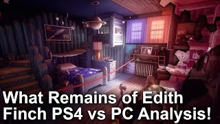 What Remains of Edith Finch - PS4/Pro vs PC Grafikai Összehasonlítás