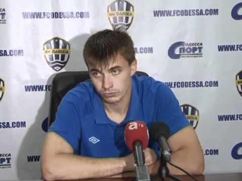 Сергей Билозор после игры с Крымтеплицей