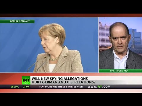 US-German relations strained over spying scandals