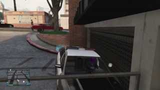 GTA 5 Online: Store Emergency Police Vehicles In Garage