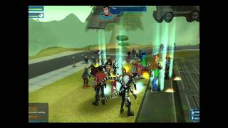Fusionfall Ben 10 / Gen Rex Heroes United Party!