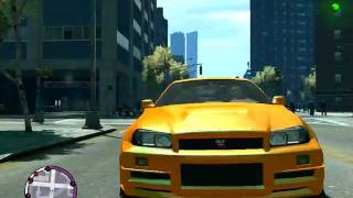 GTA4 TBOGT Nissan Skyline Cheat= P