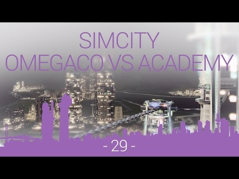 SimCity - OmegaCo vs Academy - EP29 - space centre construction