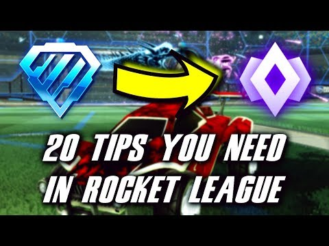 20 Tips In Rocket League You NEED To Know | How To Get From Diamond To Champ In Season 7!