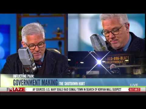 Glenn Beck: Barack Obama Is A Dictator Intentionally Inflicting Pain With Government Shutdown