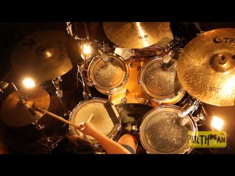 [LOUDER DRUMS] Karmi Santiago - A Christmas Rock Medley (Richard Campbell Drum Cover)