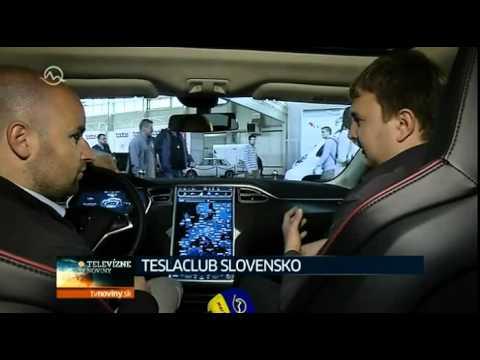 Tesla Model S @ Bratislava motorshow