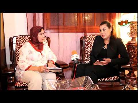 حوارات إبداعية : راضية العمري