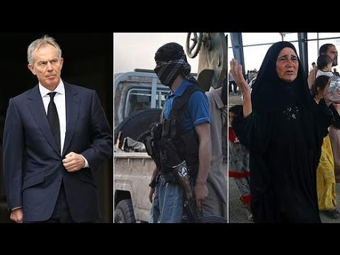 Tony Blair Discusses The Middle East And His