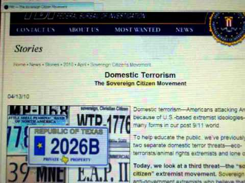 Is someone telling you to call yourself a Sovereign Citizen?