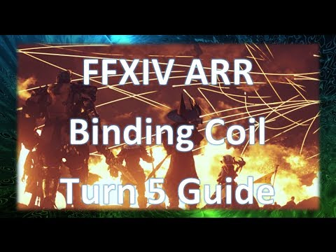FFXIV ARR: Binding Coil of Bahamut Turn 5 Guide Dragoon PoV (Patch 2.1 ...
