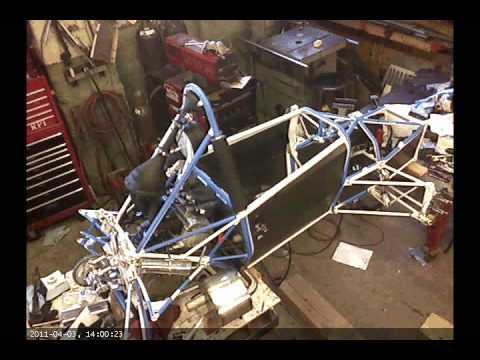 RPI Formula SAE - Time Lapse Assembly of the 2011 Car