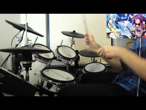 SAO II [Sword Art Online II] OP 2 Full Song - Courage - Drum Cover