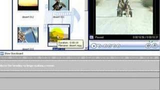 Windows Movie Maker Working In The Timeline Part 1