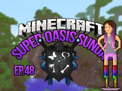 """""""FANS"""" SoS Minecraft Oasis Ep 48"""