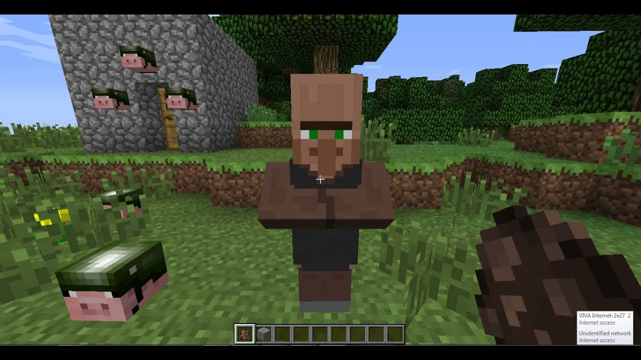 how to get villagers minecraft