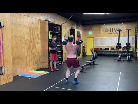 CrossFit AGOQ Workout 1