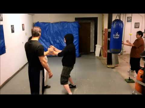 Wing Chun/Ving Tsun - IVT Lat Sau Jik Chung drilling