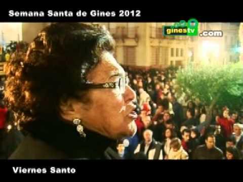 Resumen del Viernes Santo en Gines 2012