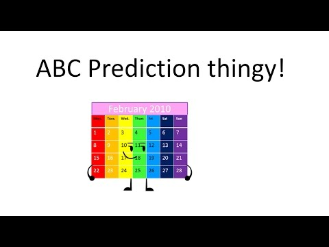Ay Bay Cay Prediction by Mister Calender person